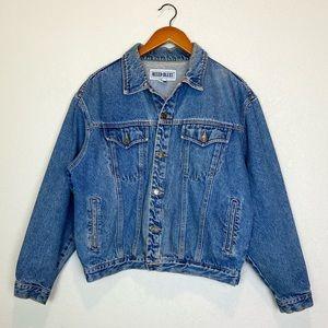 Vintage 90s Women's Oversized Classic Jean Jacket